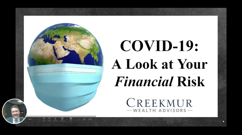 Webinar on COVID-19 - A look at your financial risk